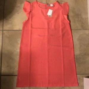 NWT All For Color Dress In Coral